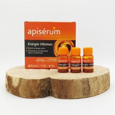 Apisérum energía vitamax 18 viales