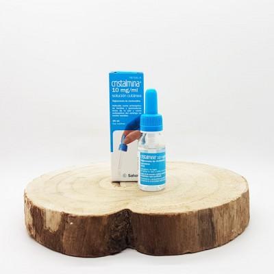 Cristalmina 10 mg/ml solución cutánea