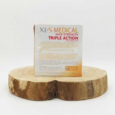 XLS Medical max strength triple action 120 comprimidos