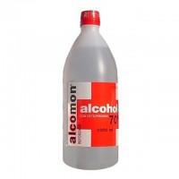 Alcohol etílico 70ª con cetilpiridino 1 litro