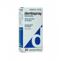 dentispray 50 mg/ml solución dental 5 ml