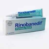 Rinobanedif pomada nasal 10 gramos