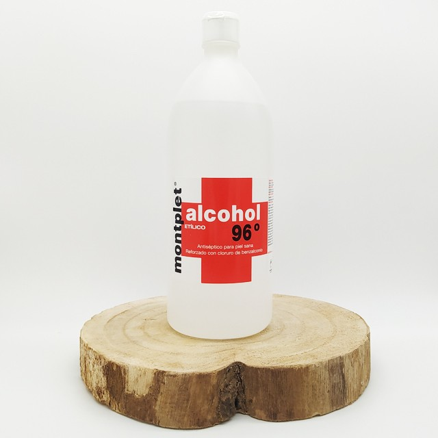 Alcohol 96º montplet 1000ml