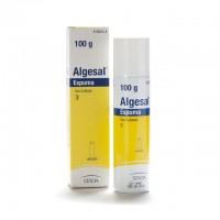 Algesal 100/10 mg/gr aerosol tópico espuma 100gr.