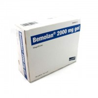 Bemolan 2000 mg gel oral 30 sobres