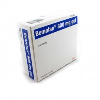 Bemolan 800 mg gel oral 30 sobres