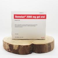Bemolan 2000 mg gel oral 30 sobres