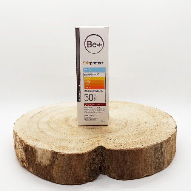 Be+ skinprotect 50+ piel seca con color 50ml