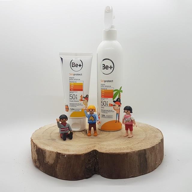 Be+ skinprotect 50+ infantil pieles atópicas