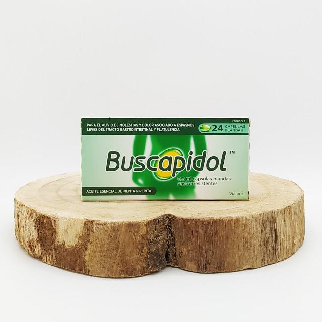 Buscapidol 24 cápsulas blandas