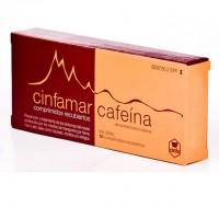 Cinfamar cafeína 50mg/50mg comprimidos recubiertos