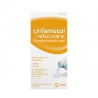 cinfamucol carbocisteína 50 mg/ml solución oral