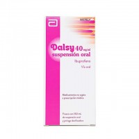 Dalsy 40 mg/ml suspensión oral 150ml.