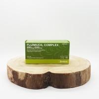 Fluimucil complex 500 mg / 200 mg 12 comprimidos efervescentes