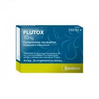 Flutox 10 mg 20 comprimidos recubiertos