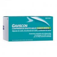 Gaviscon comprimidos masticables  sabor menta