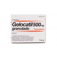 Gelocatil 500 mg granulado 12 sobres