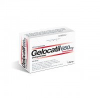 GELOCATIL 650 mg 12 comprimidos / 12 sobres sol. oral
