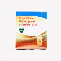 GripaVicks Polvo para solución oral 10 sobres