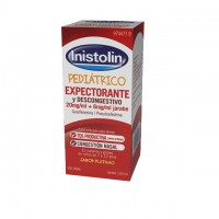 Inistolin Pediátrico Expectorante y Descongestivo 20 mg/ml + 6 mg/ml jarabe 120ml