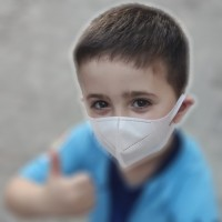 Mascarilla infantil protectora FFP2