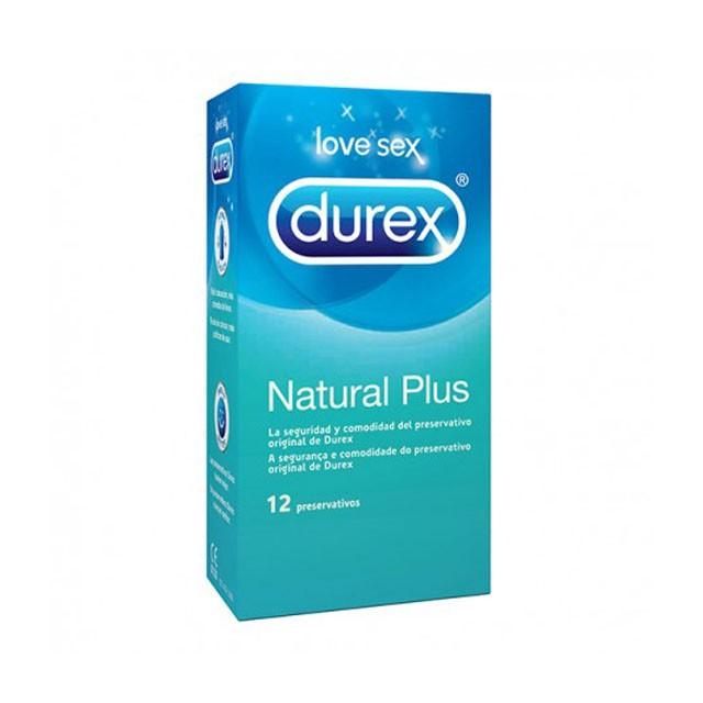 Preservativos - Durex Natural Plus