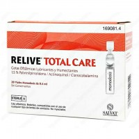 Colirio Relive Total Care 20 monodosis de 0.4 ml.