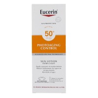 Protector solar Eucerin photoaging control sun loción extra light 50+ 150ml.